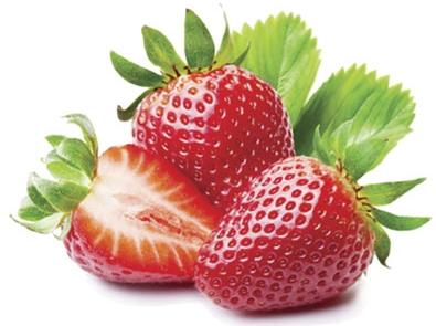 brochettes de fraises